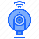 call, cam, chat, communications, video, webcam icon