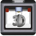 3d, construction, device, dimensional, makerbot, print, printer, printing, reprap, technology, text, three icon