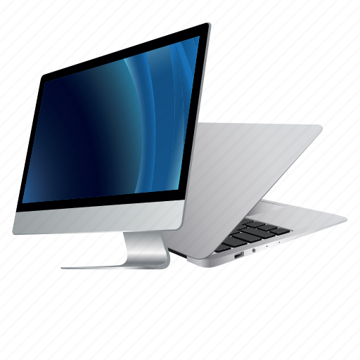 apple, computer, desktop, device, information, laptop, mac, macbook, monitor, screen, technology icon