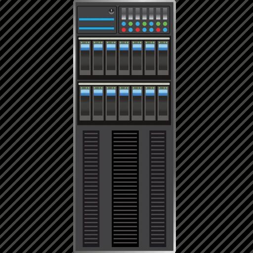 cloud, computer, computing, desktop, information, internet, network, server, technology icon