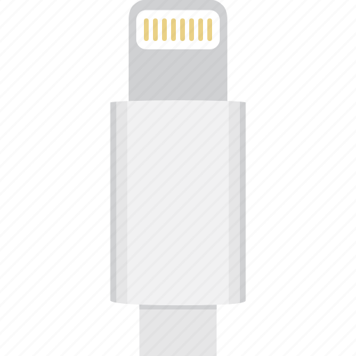 Lightning Cable Icon Lightning Power Icon