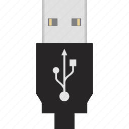 cable, charge, cord, energy, plug, usb, wire icon
