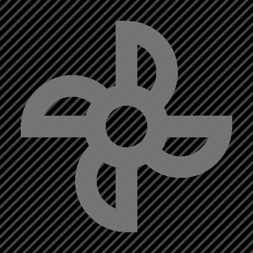 computer fan, fan icon