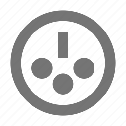 cable, computer, data, network, plug, port, server icon