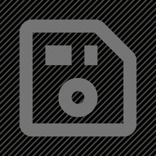 floppydisk, hardware icon