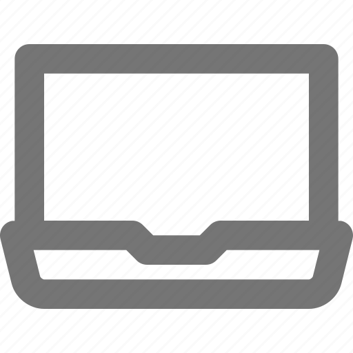 computer, device, display, laptop, macbook, notebook, portable icon