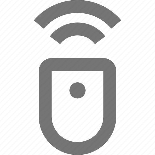 click, gadget, hardware, mouse, ponter, remote, scroll, wireless icon