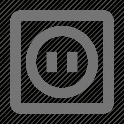 outlet, plug, socket icon