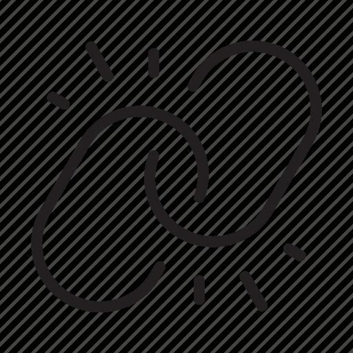 broken, broken chain, chain, hyperlink, link, remove, unlink icon