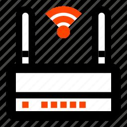lan, network, router, wan, wi fi, wi-fi, wireless icon