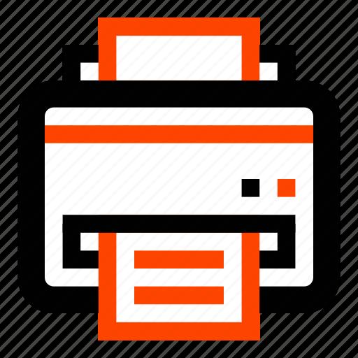 copies, copy, documents, office, print, printer, work icon