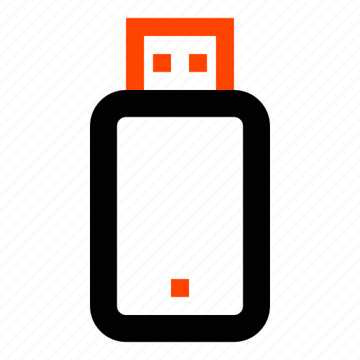 data, files, flash, memory, storage, usb, usb stick icon