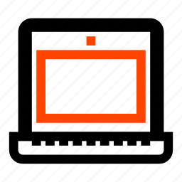 computer, laptop, netbook, notebook, pc, portable, screen icon