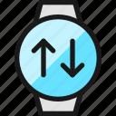smart, watch, circle, target