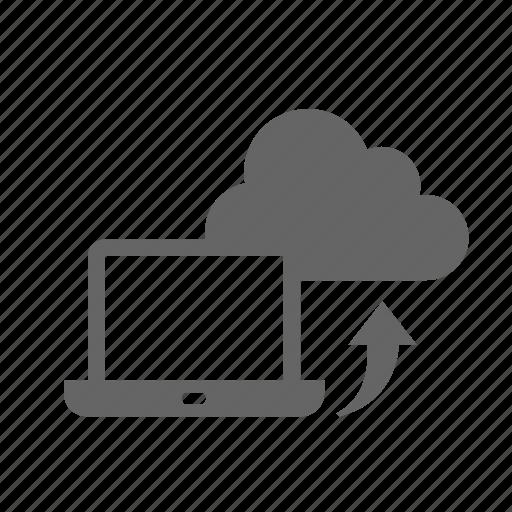 cloud, computer, upload icon