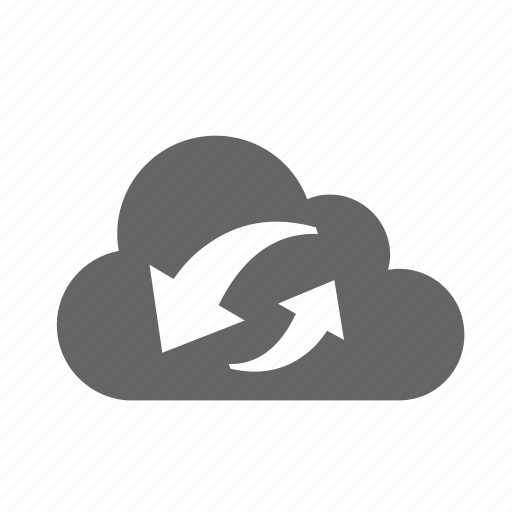 cloud, refresh, reload, synchronization, update icon