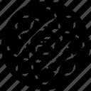 atomic data, big data science, data science, data science logo, data science symbol, database technology icon
