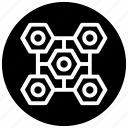 cluster, compound molecules, molecular chemistry, molecular science, molecules, molecules logo icon
