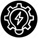 idea generation, power engineering, power idea, power idea logo, power idea symbol icon