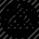 fractal, fractal logo, fractal pattern, fractal symbol, geometric shapes icon