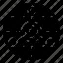 chemical hazard, chemical hazard logo, chemical hazard symbol, connected molecules, molecule structure icon