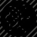 direction dispersion, dispersion, dispersion spread, education physics, physics science icon