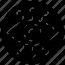 cyber eye, cybernetics, eye focus, focus monitoring, mechanical eye, view finder icon