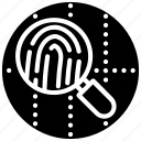 biometric monitoring, finger print, forensic, forensic logo, forensic monitoring, forensic symbol icon