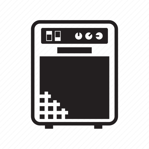 amp, sound, speaker icon