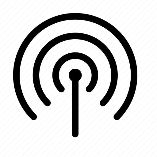 beacon, cellular, network, signal, wireless icon