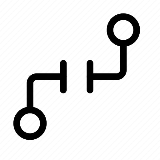 broken, disconnect, disconnected, hub, link, node, unlink icon