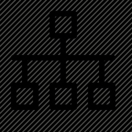 connection  diagram  ethernet  internet  network icon