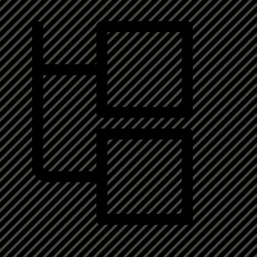chart, diagram, flow, flowchart icon