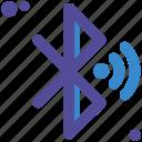 bluethoot, emitting, sending, sharing
