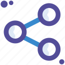 link, media, share, sharing, social icon