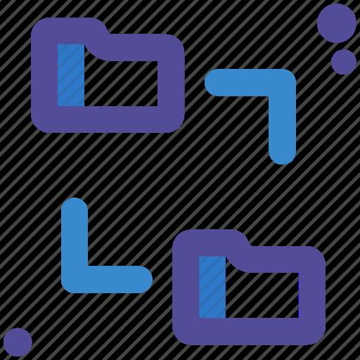 Folders, shared icon - Download on Iconfinder on Iconfinder