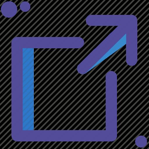 increase, resize icon
