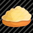creamy, cupcake, food, fruit, party, summer