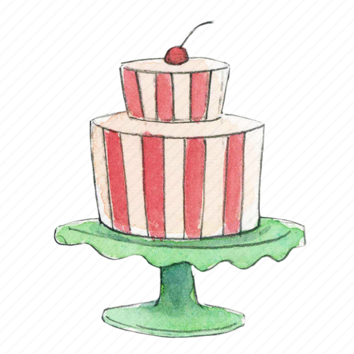 Cake Stand Vector Free Png