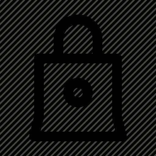 bag, business, conference, giveaway, presentation, workshop icon