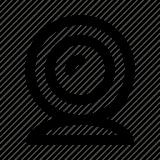 business, conference, presentation, webcam, workshop icon
