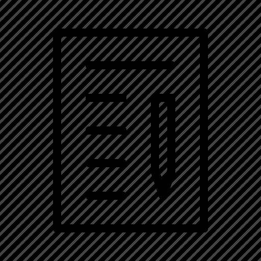 business, conference, notes, presentation, workshop icon