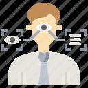 biometric, biometrics, eye, recognition, retinal, scan