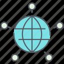 cloud, connections, global, international, network, web, internet