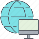 communication, global, international, internet, network, share icon