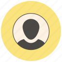 account, male, people, profile, user icon