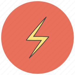 charge, energy, flash, power icon