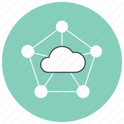 cloud, computing, connection, icloud, network, share, sharing icon