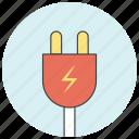 charge, charging, electric, energy, plug, power, socket icon