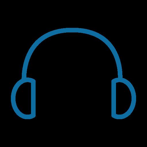 audio, headphone, media, music, player, sound, speaker icon